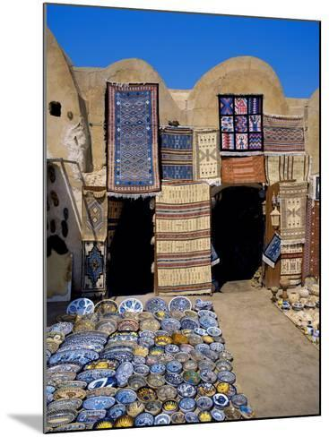 Traditional Pottery and Rug Shop, Tunisia, North Africa, Africa-Papadopoulos Sakis-Mounted Photographic Print