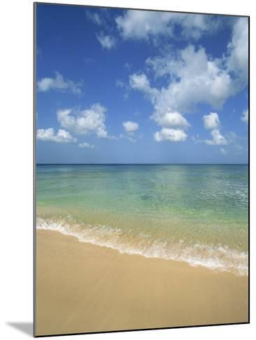 Calm Water on Beach at Paynes Bay, Barbados, West Indies, Caribbean, Central America-Hans Peter Merten-Mounted Photographic Print
