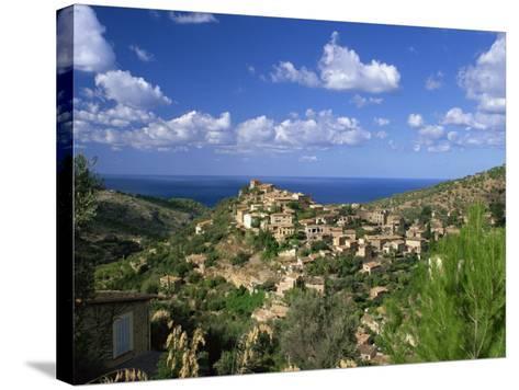 Village of Deya, Mallorca, Balearic Islands, Spain, Mediterranean, Europe--Stretched Canvas Print