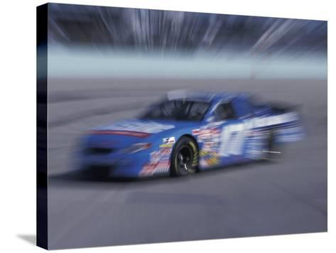 Auto Racing Action-Chris Trotman-Stretched Canvas Print