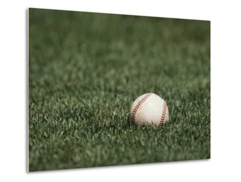 Baseball-Steven Sutton-Metal Print