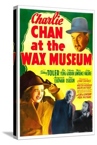 Charlie Chan at the Wax Museum, Sidney Toler, Joan Valerie, Marc Lawrence, 1940--Stretched Canvas Print