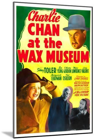 Charlie Chan at the Wax Museum, Sidney Toler, Joan Valerie, Marc Lawrence, 1940--Mounted Photo