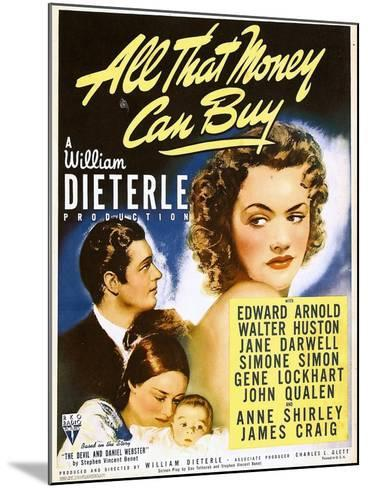All That Money Can Buy (aka the Devil and Daniel Webster), James Craig, Anne Shirley, 1940--Mounted Photo
