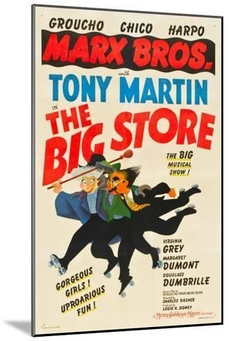 The Big Store, the Marx Brothers-From Left: Harpo Marx, Chico Marx, Groucho Marx, 1941--Mounted Photo