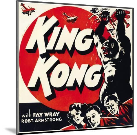 King Kong, Jumbo Window Card, 1933--Mounted Photo