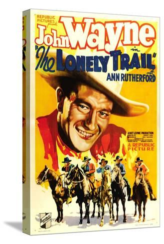 The Lonely Trail, John Wayne, 1936--Stretched Canvas Print