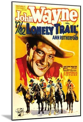 The Lonely Trail, John Wayne, 1936--Mounted Photo