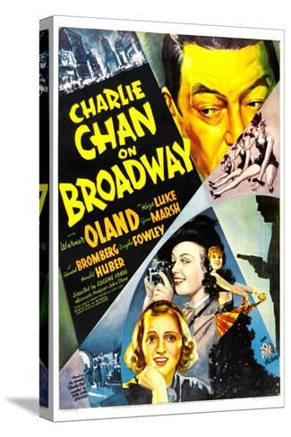 Charlie Chan on Broadway, Warner Oland, 1937--Stretched Canvas Print