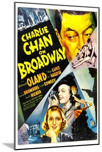 Charlie Chan on Broadway, Warner Oland, 1937--Mounted Photo