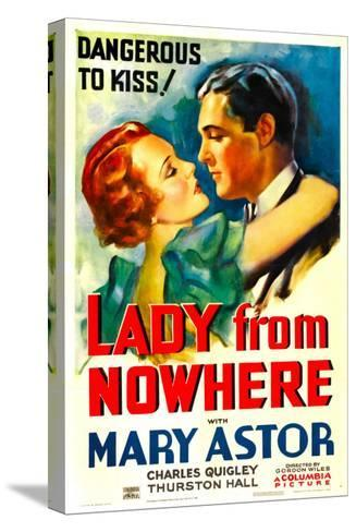 Lady from Nowhere, Mary Astor, Charles Quigley, 1933--Stretched Canvas Print