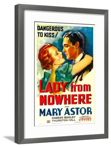 Lady from Nowhere, Mary Astor, Charles Quigley, 1933--Framed Art Print