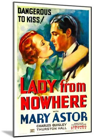 Lady from Nowhere, Mary Astor, Charles Quigley, 1933--Mounted Photo
