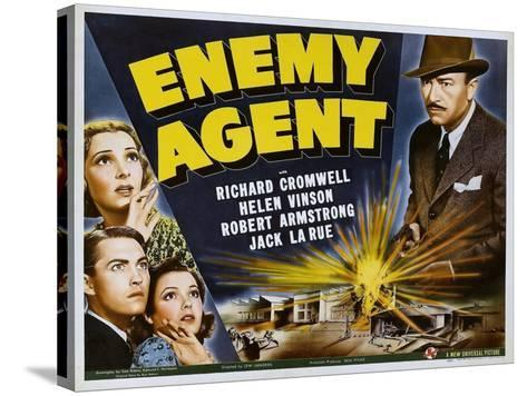 Enemy Agent, 1940--Stretched Canvas Print