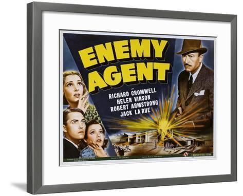 Enemy Agent, 1940--Framed Art Print