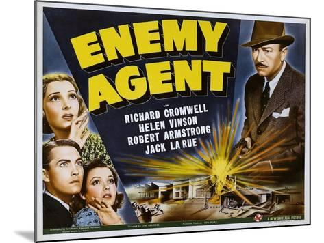 Enemy Agent, 1940--Mounted Photo