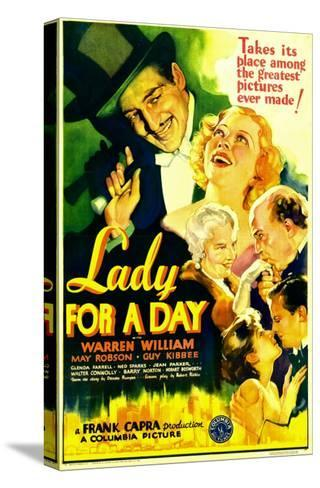 Lady for a Day, Warren William, May Robson, Guy Kibbee, 1933--Stretched Canvas Print