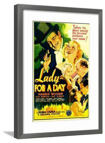 Lady for a Day, Warren William, May Robson, Guy Kibbee, 1933--Framed Art Print
