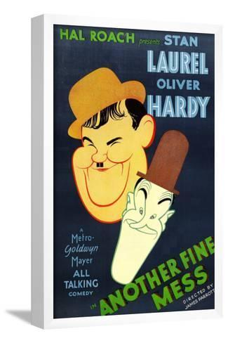 Another Fine Mess, Oliver Hardy, Stan Laurel, 1930--Framed Art Print
