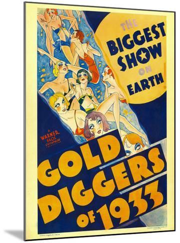 Gold Diggers of 1933, Window Card, 1933--Mounted Photo