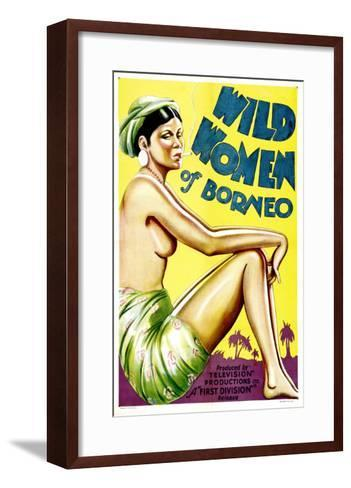 Wild Women of Borneo, 1931--Framed Art Print