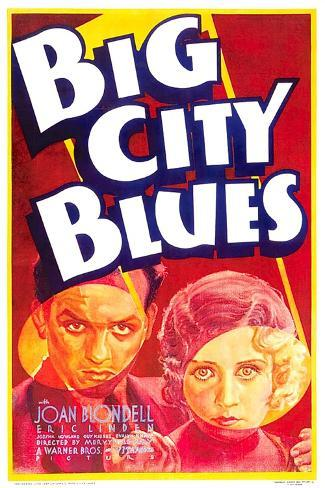 Big City Blues, Eric Linden, Joan Blondell, 1932--Stretched Canvas Print
