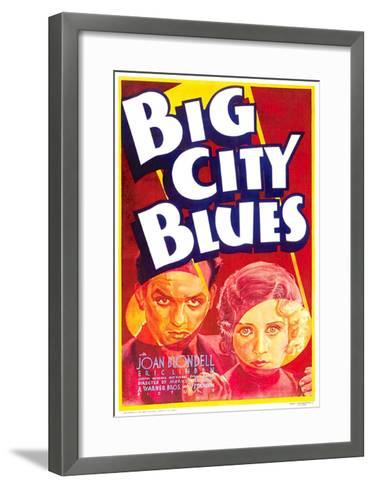 Big City Blues, Eric Linden, Joan Blondell, 1932--Framed Art Print