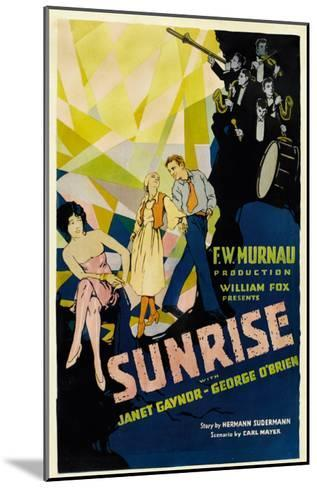 Sunrise, (Aka 'sunrise: a Song of Two Humans'); in Foreground, 1927--Mounted Photo