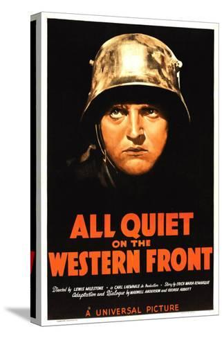 All Quiet on the Western Front, Lew Ayres, 1930--Stretched Canvas Print