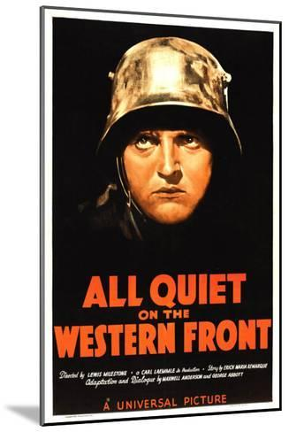 All Quiet on the Western Front, Lew Ayres, 1930--Mounted Photo