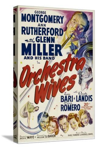 Orchestra Wives, Glen Miller, 1942--Stretched Canvas Print