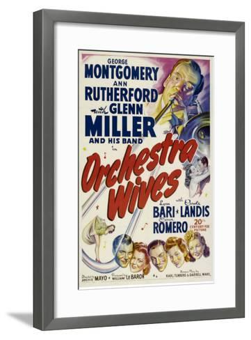 Orchestra Wives, Glen Miller, 1942--Framed Art Print