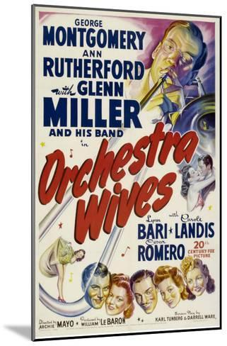 Orchestra Wives, Glen Miller, 1942--Mounted Photo