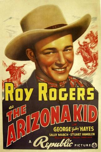 The Arizona Kid, 1939--Stretched Canvas Print