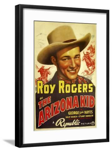 The Arizona Kid, 1939--Framed Art Print
