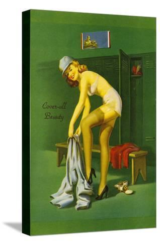 Coverall Beauty--Stretched Canvas Print