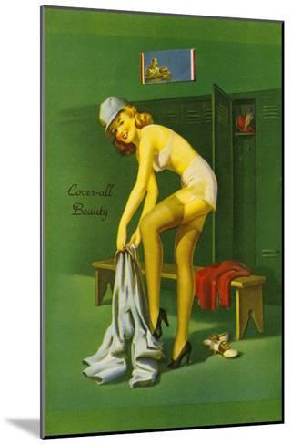 Coverall Beauty--Mounted Art Print