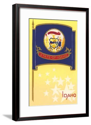Flag of Idaho--Framed Art Print