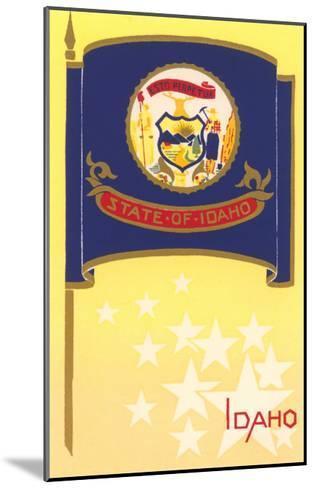 Flag of Idaho--Mounted Art Print