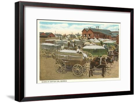 Cotton Gin--Framed Art Print