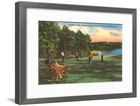 Country Club, Athens, Georgia--Framed Art Print