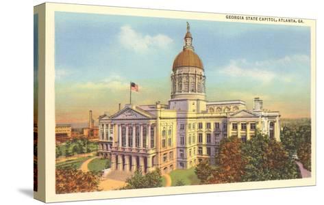 State Capitol, Atlanta, Georgia--Stretched Canvas Print