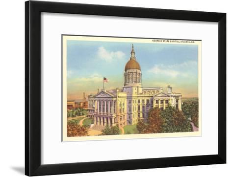 State Capitol, Atlanta, Georgia--Framed Art Print