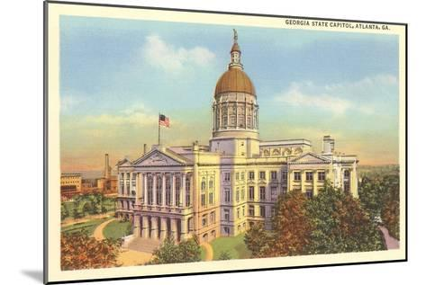 State Capitol, Atlanta, Georgia--Mounted Art Print