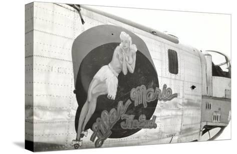 Nose Art, Lilas Marie, Pin-Up--Stretched Canvas Print