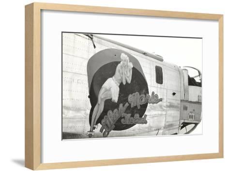 Nose Art, Lilas Marie, Pin-Up--Framed Art Print