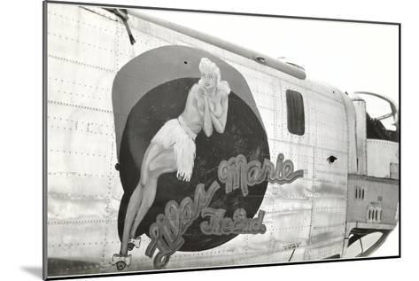 Nose Art, Lilas Marie, Pin-Up--Mounted Art Print