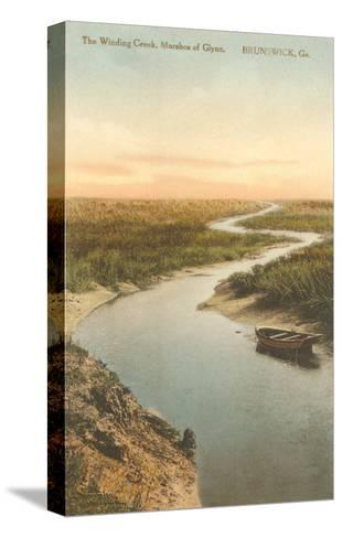 Marshes of Glynn, Brunswick, Georgia--Stretched Canvas Print
