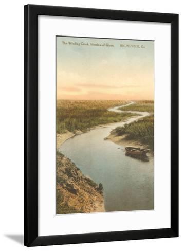 Marshes of Glynn, Brunswick, Georgia--Framed Art Print