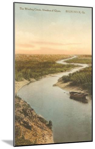 Marshes of Glynn, Brunswick, Georgia--Mounted Art Print